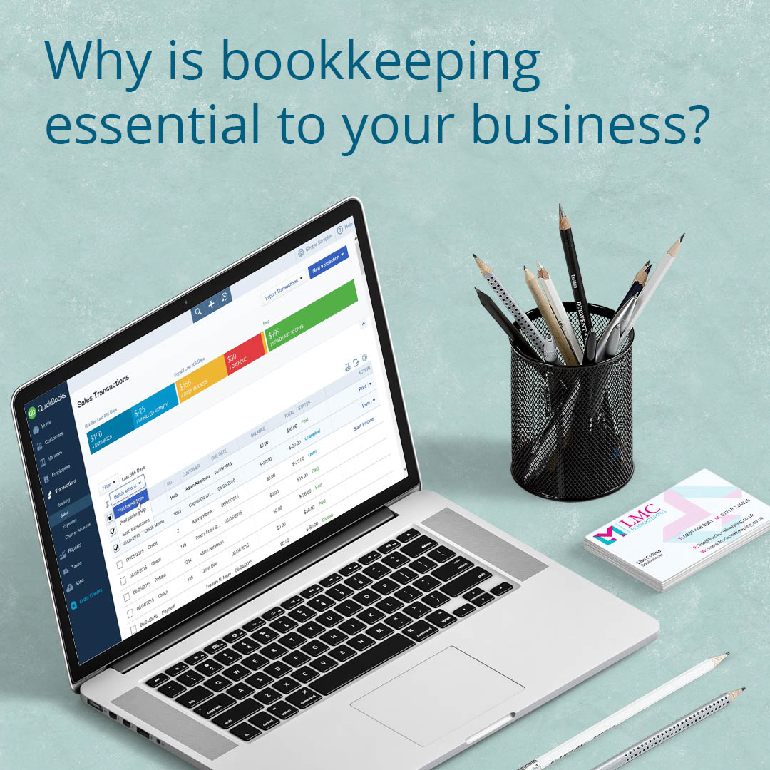 why is bookkeeping essential to your business