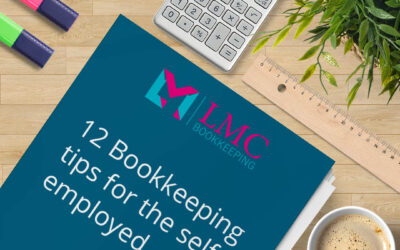 Bookkeeping tips for self employed people
